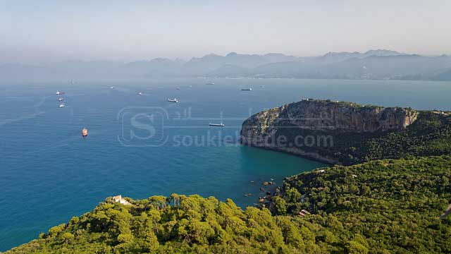 صورة لبعض الشواطئ الجزائرية - بجاية