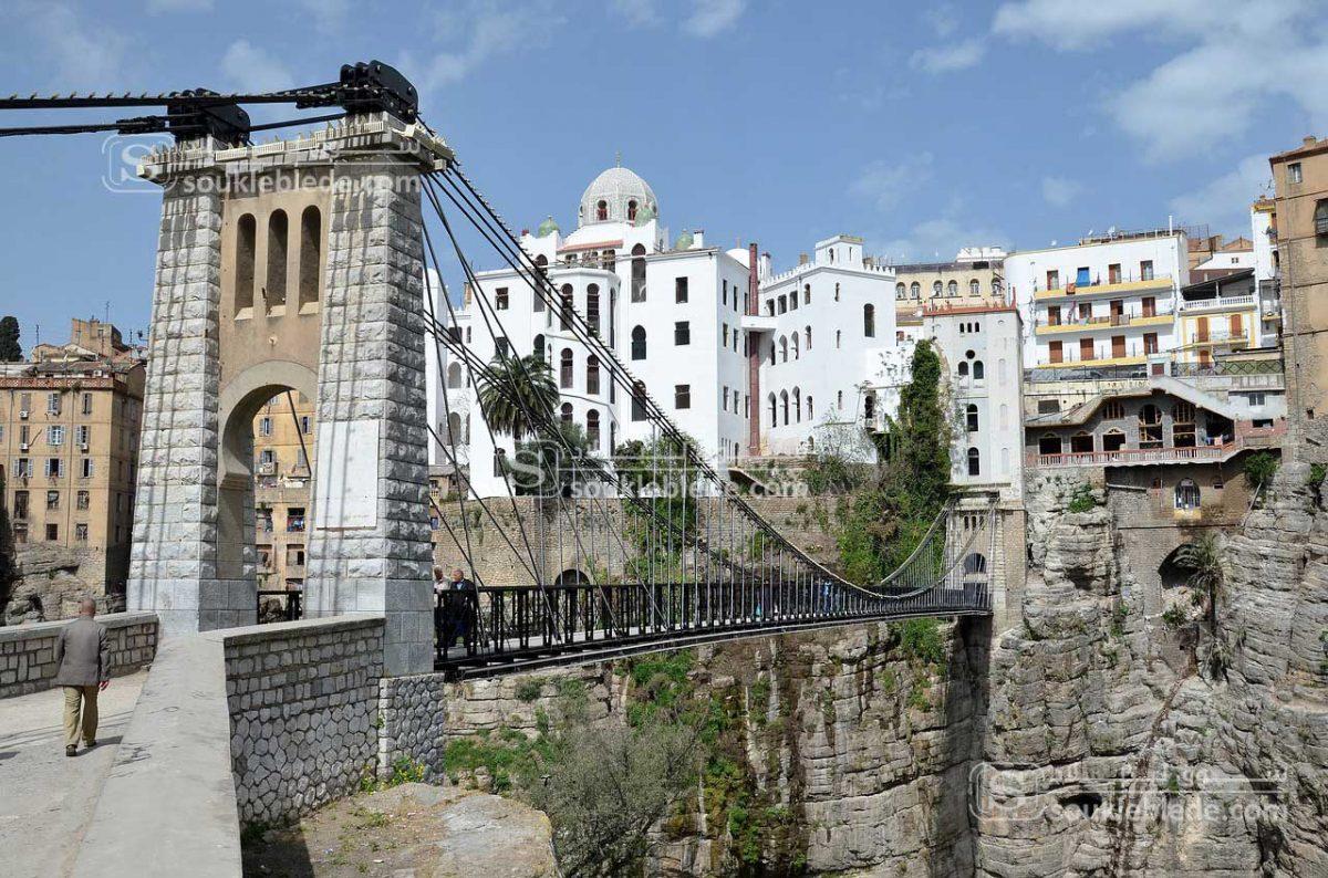 صورة من قسنطينة مدينة الجسور المعلقة