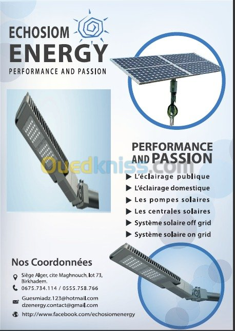energie solair طاقة شمسية