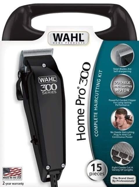 ماكينة الحلاقة الاحترافية موديل 300 مع 14 قطعة من الإكسسوارات لقص الشعر